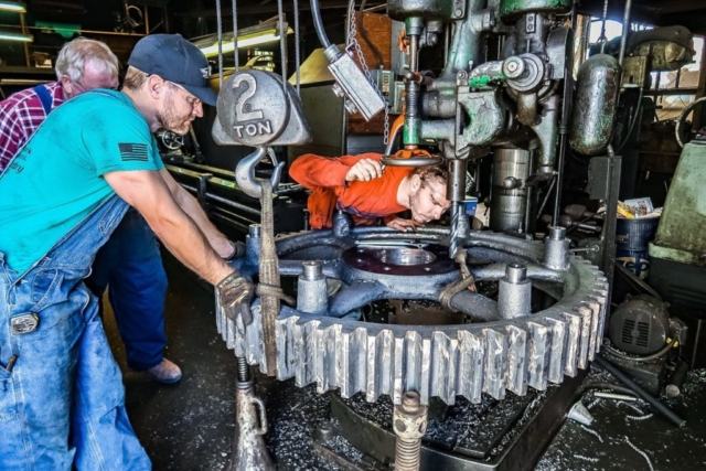 Drilling bull gears