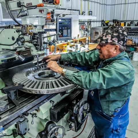Gary Drilling Bevel Gear