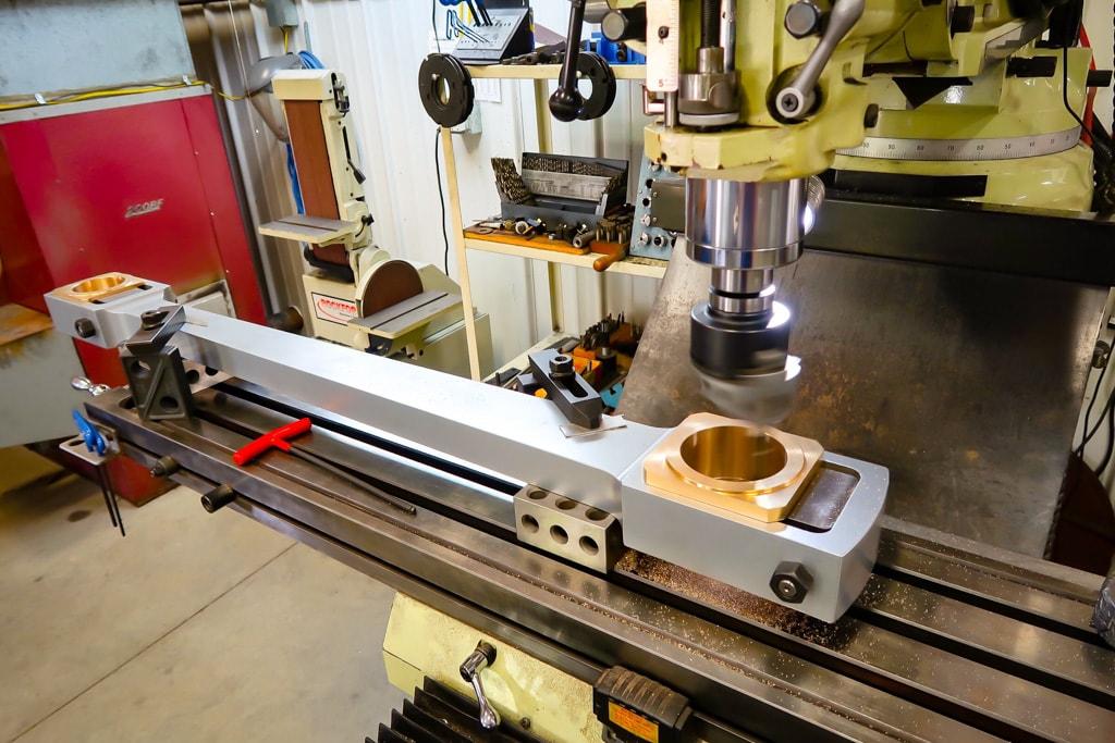 Finish boring connecting rod bearings