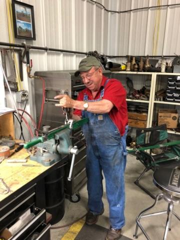 Gary assembling levers